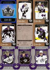 2007-08 OPC O-Pee-Chee Los Angeles Kings Complete Team Set w/ Foil CL (24)