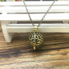NEW Perfume Fragrance Essential Oil Aromatherapy Diffuser Locket Necklace ZXL77