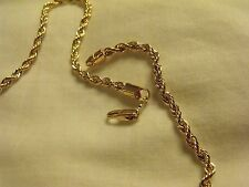 CHAINE OR SNAKE LINK NECKLACE CHAIN 18K GOLD FILLED 45 cm