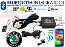 CTASKBT003 Skoda Octavia Bluetooth music streaming adapter handsfree AUX iPhone