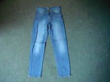 "Denim Co Slim Jeans W 24"" L 24"" Faded Dark Blue Boys 9/10 Yrs Jeans"