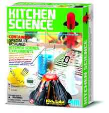 Science Kit Kitchen Educational Fun Experiments Toy Gift For Children By 4M, NEW