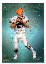 1X TIM COUCH 1999 SP Authentic #HQ10 HEADQUARTERS INSERT NMMT Cleveland Browns