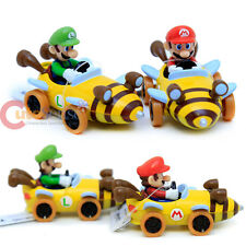 Nintendo Super Mario Kart 7 Bee Diecast Collection set of 2 Mario Luigi Bee Car