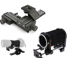 4-way Macro Focusing Slide Rail And Focusing Slide Lens Bellow For Canon 7D 60D