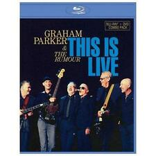 GRAHAM PARKER & THE RUMOUR - This Is Live (Combo Pack) BLU-RAY + DVD