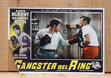 GANGSTER DEL RING poster fotobusta Audie Murphy World in My Corner 1956 Boxe