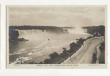General View From Canadian Side Niagara Falls RP Postcard 212a