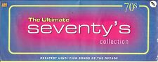 THE ULTIMATE SEVENTY'S (70's) COLLECTION - BRAND NEW BOLLYWOOD 4 CASSETTES SET