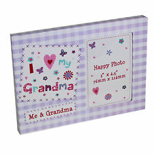 """I Love My Grandma"" Photo Frame - Mother's Day / Birthday"