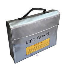 235*65*180mm Square LiPo Safe Battery Charging Box Bag Sack Pouch Fire Resistant