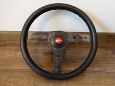 SPORT STEERING WHEEL PERSONAL leather BMW MERCEDES VW OPEL FORD HONDA MAZDA RARE