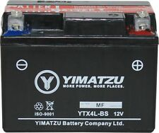 Yimatzu GTX4L-BS Battery Replaces YTX4L-BS, PTX4L-BS, ETX4L-BS, YTX4L, YT4L
