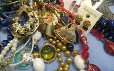 Junk Drawer Lot of Vintage to Now Nice, All Wearable Jewelry..No. 7