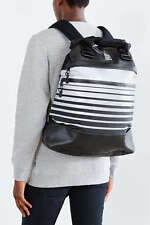 Puma x ICNY Ice Cold Backpack Rucksack Black Silver Reflective New 073365-01