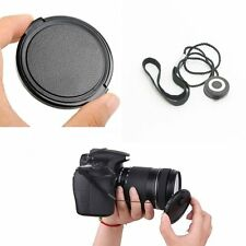 Universal 55mm Snap-On Front Lens Cap Cover For All Canon Nikon Sony Camera+kepp