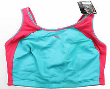 Shock Absorber Womens Multi Sports Max Support Sports Bra Coral Blue Size 34D