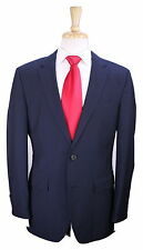 * HUGO BOSS * Recent The James/Sharp Navy Blue Striped 2-Btn Wool Suit 38R