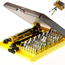 45 in 1 Precision Torx Screwdriver Cell Phone Repair Tool Set Tweezer Mobile Kit