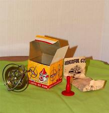 Antique Vintage Old 1940s Big Top Gyroscope in Original Box Toy AT9211308-57