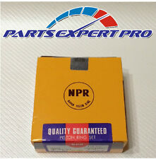 NEW NPR PISTON RINGS ACURA INTEGRA HONDA CIVIC B16A B18B B18C MADE JAPAN 81 MM