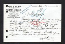 """PLENEUF (22) CHAUSSURES & CORDONNERIE """"Thierry PLESSIX"""" en 1951"""