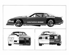 1984 Chevrolet Camaro Z28 IROC Race Car Factory Photo c6476-UYBEWY