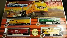 "Bachman ""The Challenger"" HO Scale Electric Train Set With EZ Track 00621"