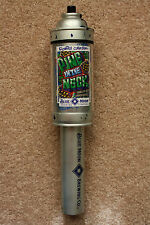 BLUE MOON BREWING BEER TAP HANDLE - PINE IN THE NECK SPRAY PAINT CAN - GRAFITTI