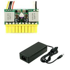 PicoPSU-80 DC-DC Power Supply+60W (12V) AC-DC Power Adapter with US Power Cord