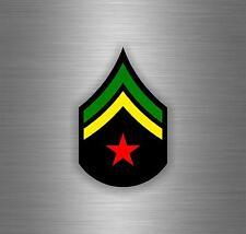 Sticker car decal rasta reggae JAH macbook lion of judah one love rastafarai r1