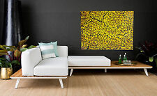 LARGE 120cm original Aboriginal Art  Painting  bush  petals  JANE CRAWFORD