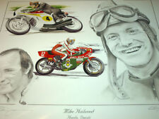MIKE HAILWOOD DUCATI NCR HONDA WORLD CHAMPION TRIBUTE ISLE OF MAN TT WINNER