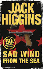 Jack Higgins Sad Wind from the Sea Very Good Book