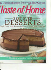 TASTE OF HOME BEST EVER DESSERTS EASTER MENU COOKER FEBRUARY/MARCH 2008 NO CUTS