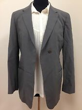 $3,069 Giorgio ARMANI ITALY Women's Gray Pure Wool Luxury Pant Suit Size 38