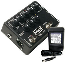 MXR M-80 Bass D.I.+ Direct Box/Distortion w/ 9v power supply free shipping!