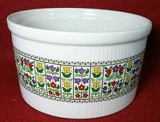 "ROYAL DOULTON china FIREGLOW TC1080 pattern Souffle - 6-1/2"" x 3-1/2"""