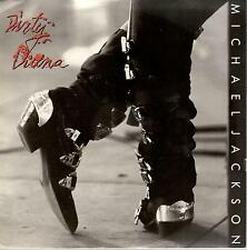 Michael Jackson, Dirty Diana ft. Steve Stevens; White Label Promotional 45