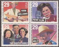 United States Scott  2771-74 Country Music MINT Block OF Four
