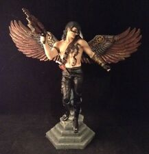 STEAMPUNK Male Angel CROW Gun MAGIC Wicca FANTASY Dragon RESIN