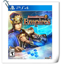PS4 SONY PLAYSTATION Games Dynasty Warriors 8 Empires Action Koei Tecmo Games