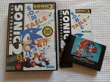 Sonic the hedgehog 2 jeu (asian version) avec livret. sega megadrive