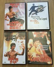 Bruce Lee Lot X 5 Chinese Hong Kong DVDs Game..enter...the Way...the Man...tower