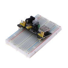 MB102 Breadboard Power Supply Module 3.3V 5V Solderless Bread board PCB 830Point
