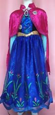 Disney Frozen Musical Anna Fancy Dress Costume plays For First Time age 9/10 y