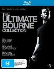The Ultimate Bourne Collection Blu Ray LIKE NEW
