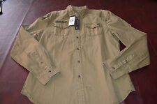 Mens Buffalo David Bitton Button Front shirt  LAST ONE *New with Tags* Size M