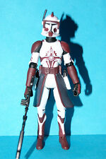 STAR WARS 2008 CLONE WARS COMMANDER FOX TARGET EXCLUSIVE LOOSE COMPLETE