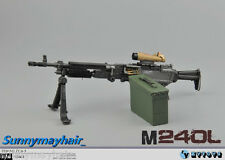 "1/6 ZYTOYS American Solider Coaxial Machine Gun  M240B Model Weapon F 12"" Figure"
